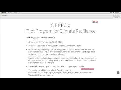 Webinar African Climate July2014