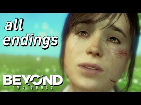 BEYOND: Two Souls - ALL ENDINGS [HD] Choose BEYOND or LIFE (Ryan, Jay, Zoey, Alone)