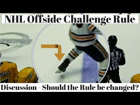 NHL Offside Challenge Rule Discussion
