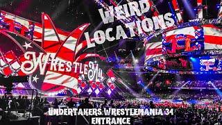 Undertaker's Wrestlemania 34 entrance! New Orleans, LA