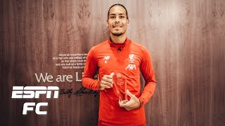 Liverpool stars Van Dijk, Alisson, Alexander-Arnold, Robertson and Klopp dominate awards | FC 100