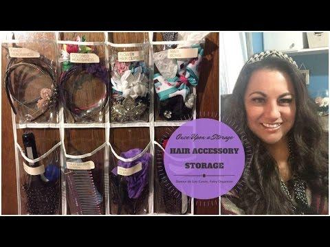 Tell A Tale Tuesday: Rapunzel & Hair Accessories Storage