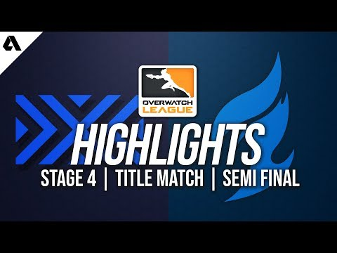 Dallas Fuel vs New York Excelsior | Overwatch League Highlights OWL Stage 4 Semi-Finals thumbnail