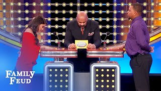 WATCH OUT! This makes girlfriends go PSYCHO... | Family Feud