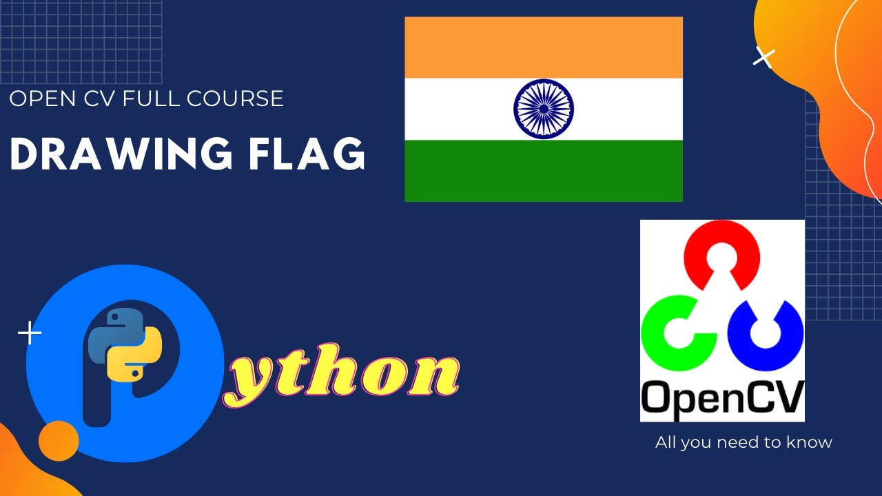 Drawing Flags | Mouse Call Backs | Hands-on Tutorial OpenCV
