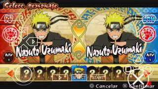 Trucos de personajes ocultos de Naruto últimate ninja impact
