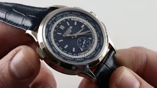 Patek Philippe World Time Chronograph 5930G-001 Luxury Watch Review