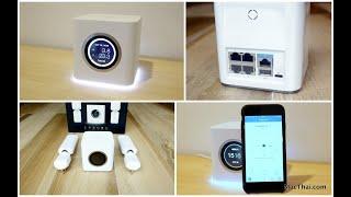 รีวิว AmpliFi HD : Mesh Wi-Fi แก้ปัญหาเน็ตบ้านช้า, สัญญาณไปไม่ถึง, ใช้ง่าย ดีไซน์สวย