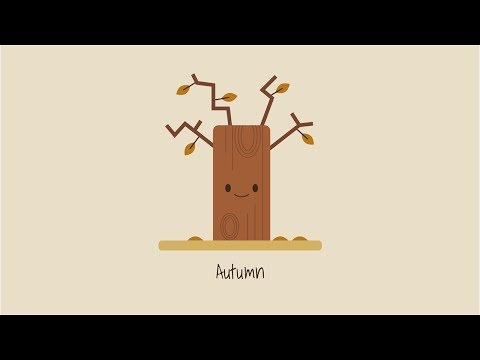 Design your own fall postcards | TUTPAD