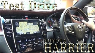 toyota harrier 2014 New model Test Drive