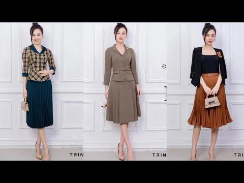 BST _ áo kí giả kết hợp chân váy cho quý cô thanh lịch | Bao quát các nội dung liên quan đến thời trang evis chuẩn nhất
