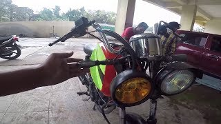 pulsar 180 modified old frant look almost complete | bullet singh boisar