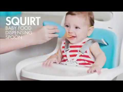 Boon Squirt Silicone Baby Food Dispensing Spoon | Toys R Us Canada