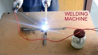 How to Make Cheapest Welding Machine by SALT