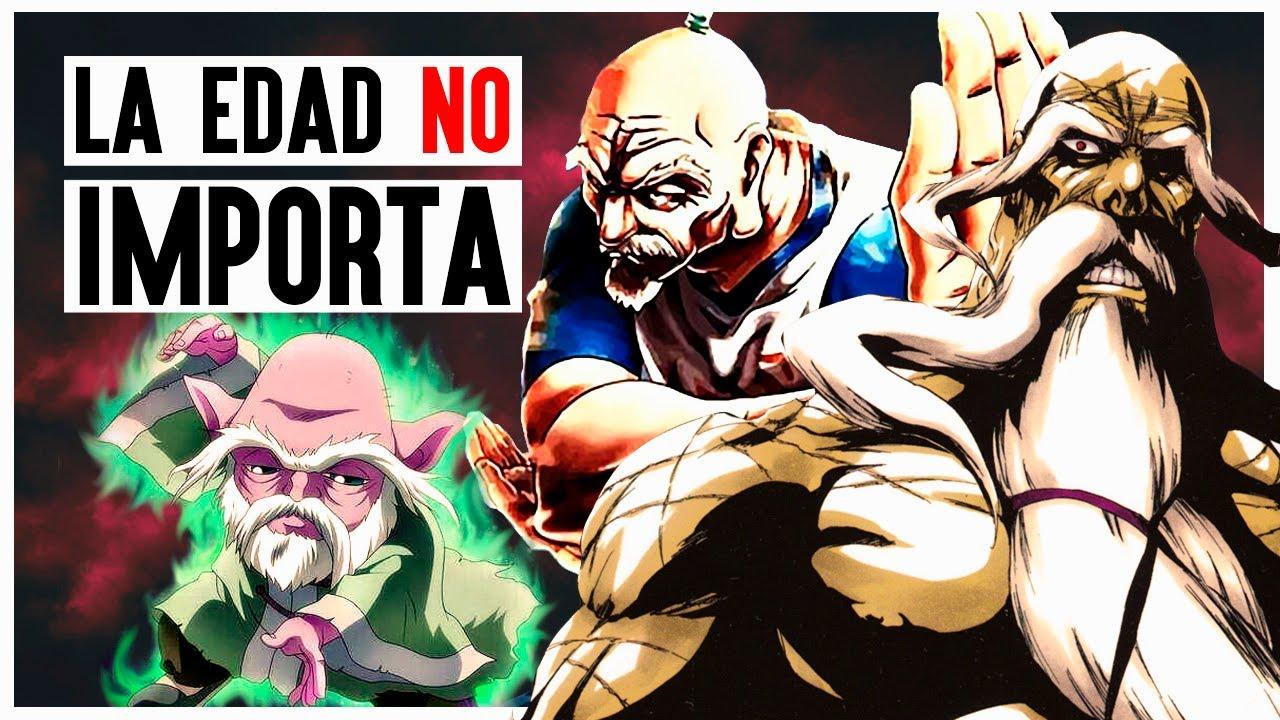 Maestría Y Poder Encarnados: Los Viejitos del Anime (que NO son pervertidos)
