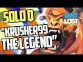 Overwatch - Krusher99 THE LEGEND! Race to GM! Bye Bye SEASON 5!! [SOLO Q]