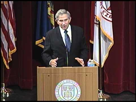Paul Wolfowitz '65 on future of foreign policy