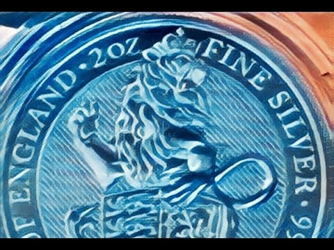 Quality silver bullion delivery from www.goldsilver.be 10oz monkey and queens beast lions