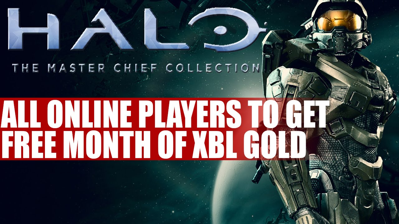Halo The Master Chief Collection Owners To Get Free Month Of Xbox Live Gold Info