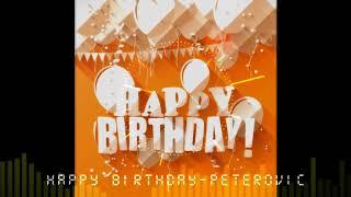 【耳機福利】【生日快樂歌電音向】生日獻禮 19歲大專生的原創電音 《Happy birthday-Peterovic》