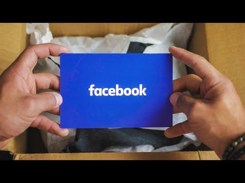 FACEBOOK SENT ME A GIFT (Facebook Internship Gift)