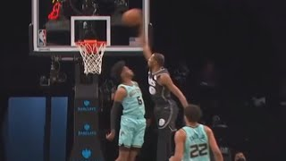 Durant Poster! Miles Bridges Career High 33 Pts! 2020-21 NBA Season