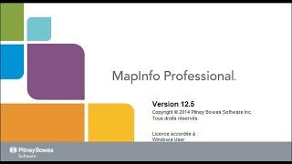 Setup Mapinfo 12.5 (Cài đặt MapInfo 12.5)