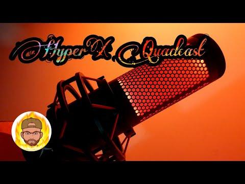 Микрофон HyperX Quadcast (HX-MICQC-BK)