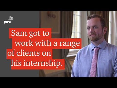 What's it like being an intern at PwC? Sam tells you