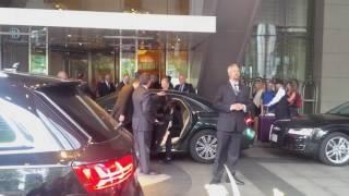 Hazar Imam with Prince Aly Muhammad, Ritz, Toronto, May 21, 2016