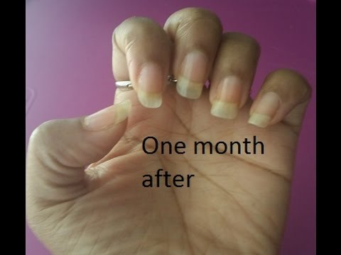 How I Grow Natural Healthy Long Nails W Biotin My Routine Gweni Lavay You