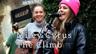 MUST WATCH INCREDIBLE DUET   Miley Cyrus - The Climb   Allie Sherlock & Saibh Skelly cover