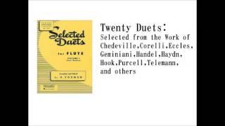 【Lesson】Twenty Duets for Flute part 1