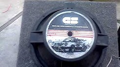 15 inch REDLINE G&S sub with about 100wrms