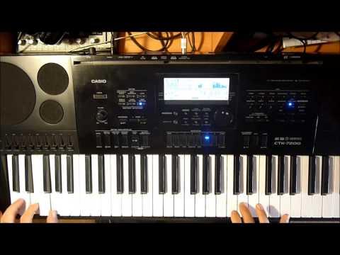 Мираж Звёзды нас ждут cover на синтезаторе Casio CTK 7200