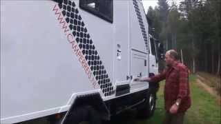 MAN 4WD Overland Expedition Vehicle / MAN camion camping-car / Полноприводный МАН кемпер
