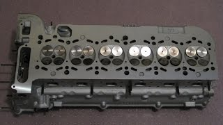How to check a BMW M52 M52tu M54 M56 cylinder head for cracks