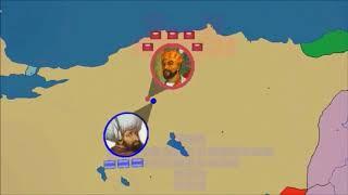 Ankara Savaşı 1402, Yıldırım ve Timur  2D Savaş || MCT Tarih