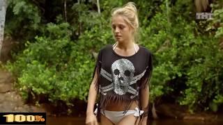 Янина Студилина голая В бикини в сериале Остров (Серия 23)