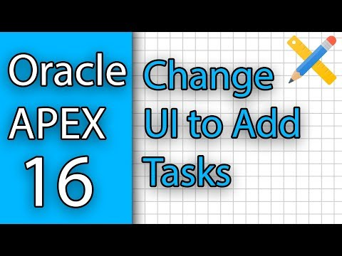 APEX 16 - Change UI to add Tasks thumbnail