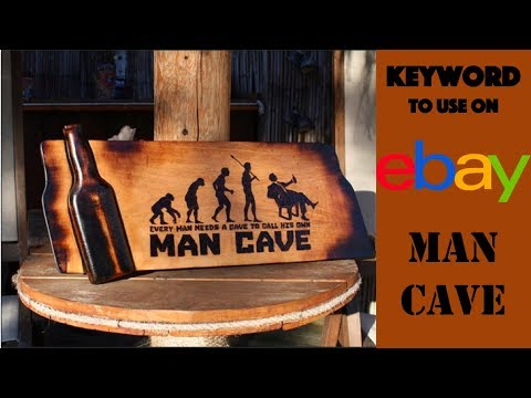 Hot eBay Keyword:  Man Cave (Decor, Collectibles, Stuff!)