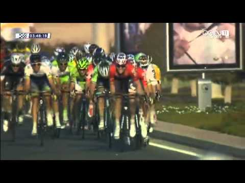 Tour of Qatar 2014 - Final Km's Stage 5 - Al Zubara Fort  ›  Madinat Al Shamal