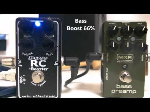 MXR M81 Vs. Xotic Bass RC Booster