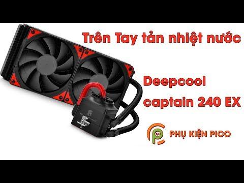 Trên tay tản nhiệt nước Deepcool Captain 240 EX Red Version