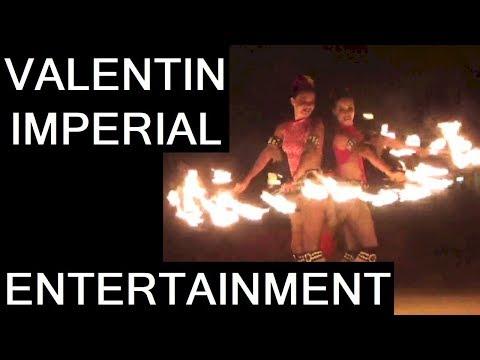 Valentin Imperial Resort Onsite Entertainment Riviera Maya Music Fire & Circus Show Karaoke Mexico