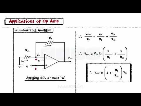 Operational Amplifiers- Block Diagram - Inverting & Non Inverting Op Amp - Adder - Subtractor