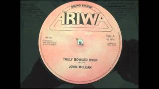 "John McLean  ""truly bowled over"""