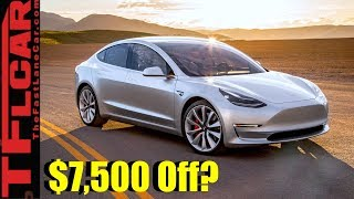 When Will the Tesla Model 3 Go On Sale and Will Buyers Still Get a $7,500 Tax Credit?