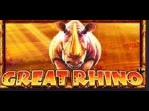Great Rhino Slot Machine Youtube
