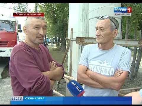 Очевидцы о ДТП с автокраном и маршрутками в Челябинске 26.07.19